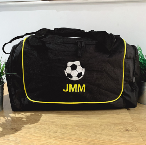 Personalised FOOTBALL Holdall Bag